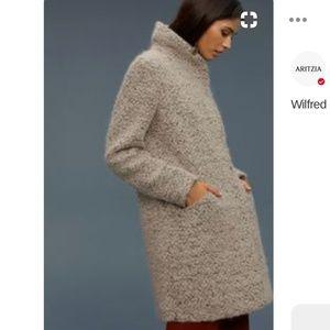 Aritzia Wilfred Wool Cocoon Coat S